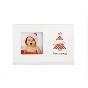 Pearhead BABY'S FIRST CHRISTMAS Photo Frame NIB